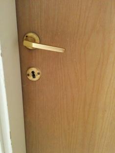 wood-door-with-handle