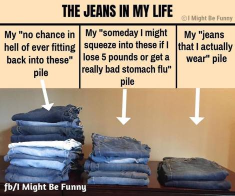 too many jeans